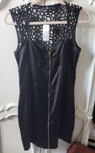 BeBe black mini dress